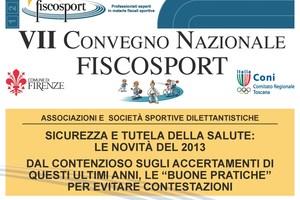 Il Convegno di Fiscosport è passato e…