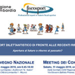 XI CONVEGNO NAZIONALE FISCOSPORT e MEETING DEI CONSULENTI - Milano, 10 e 11 maggio 2019