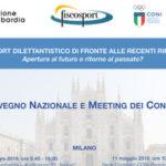 Si sono conclusi i lavori dell'XI CONVEGNO NAZIONALE FISCOSPORT e MEETING DEI CONSULENTI tenutisi a Milano il 10 e l'11 maggio: grazie a tutti!